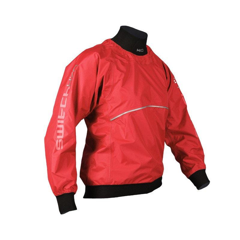 Červená pánská vodácká bunda Hiko