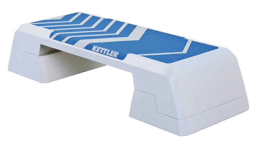 Bílo-modrý aerobic step Kettler