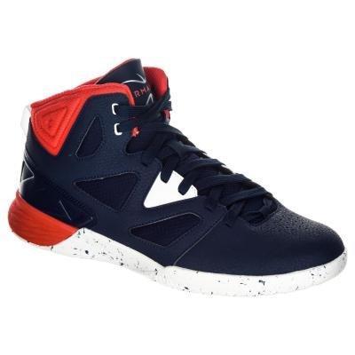 Červeno-modré pánské basketbalové boty Shield 300, Tarmak - velikost 47 EU