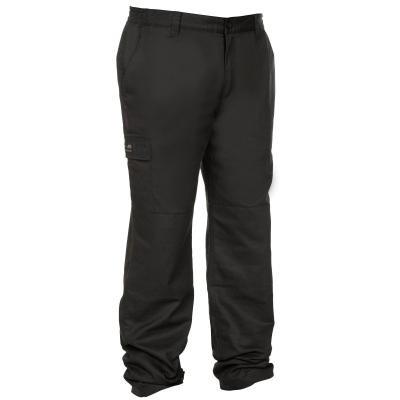 Černé zimní lovecké kalhoty Solognac