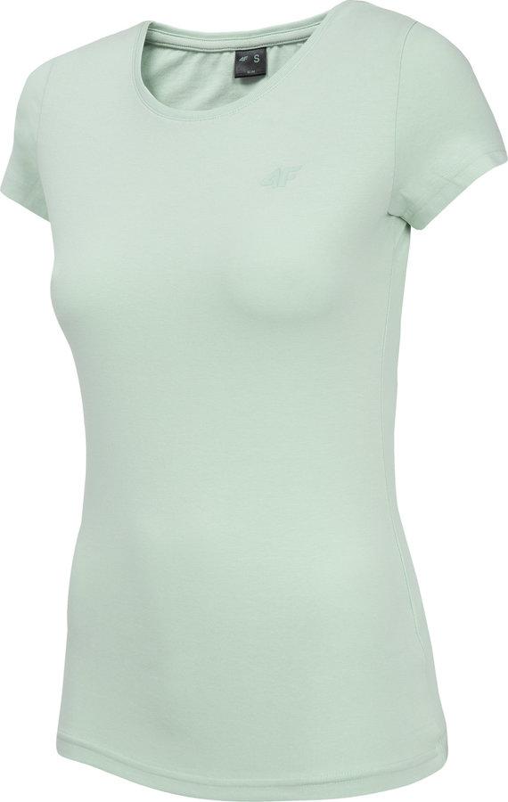 Šedé dámské tričko s krátkým rukávem 4F