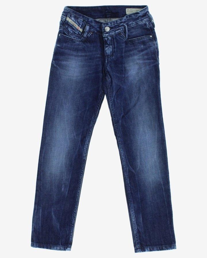Modré dívčí džíny Diesel - velikost 128
