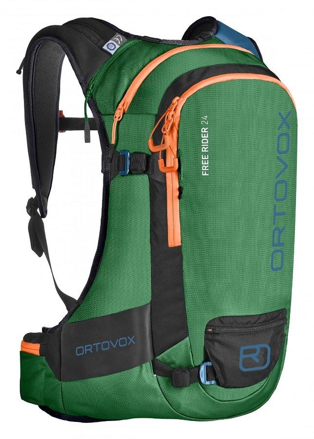 Zelený skialpový batoh Ortovox - objem 24 l