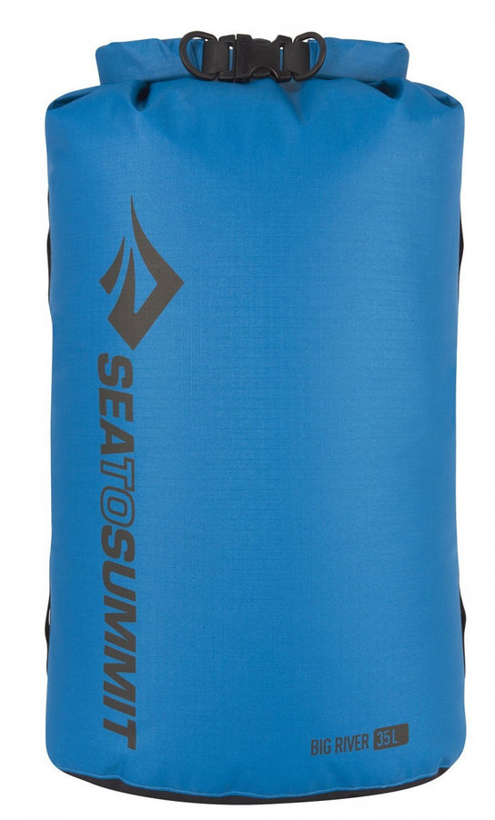 Modrý lodní vak Big River Dry Bag, Sea to Summit - objem 35 l