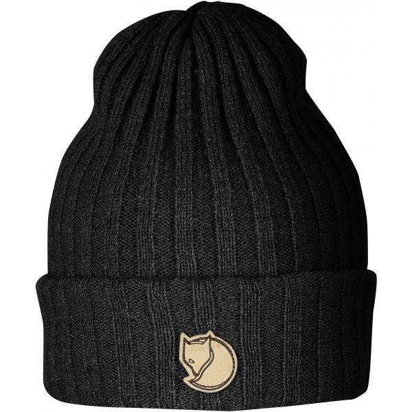 Černá zimní čepice Fjällräven