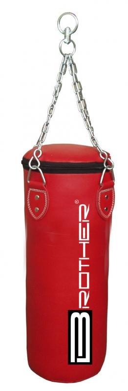 Červený boxovací pytel Acra - 36 kg