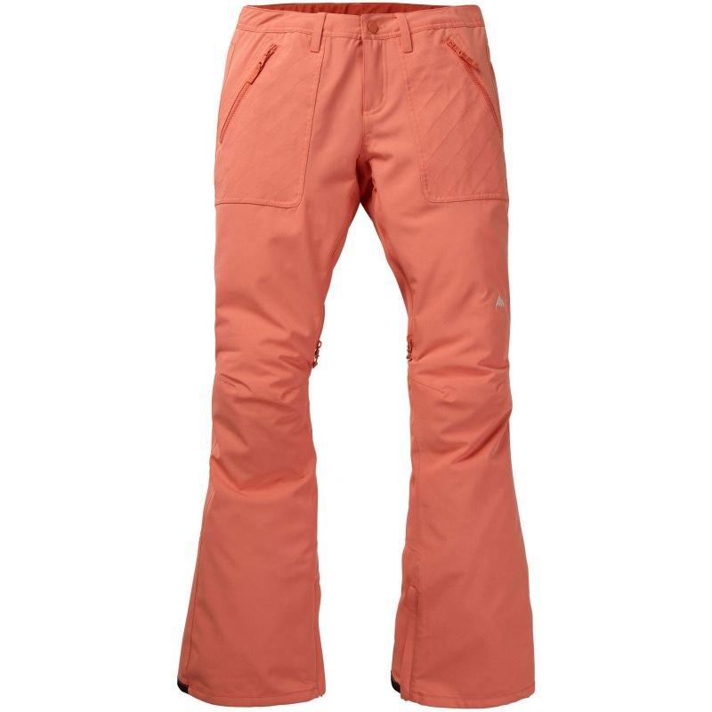 Oranžové dámské snowboardové kalhoty Burton