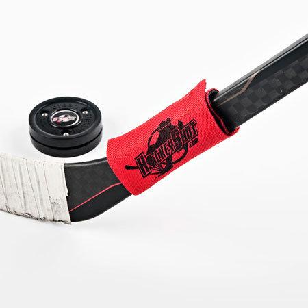 Červené závaží na hokejku HockeyShot - 340 g