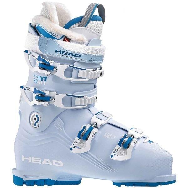 Bílo-modré dámské lyžařské boty Head - velikost vnitřní stélky 24 cm