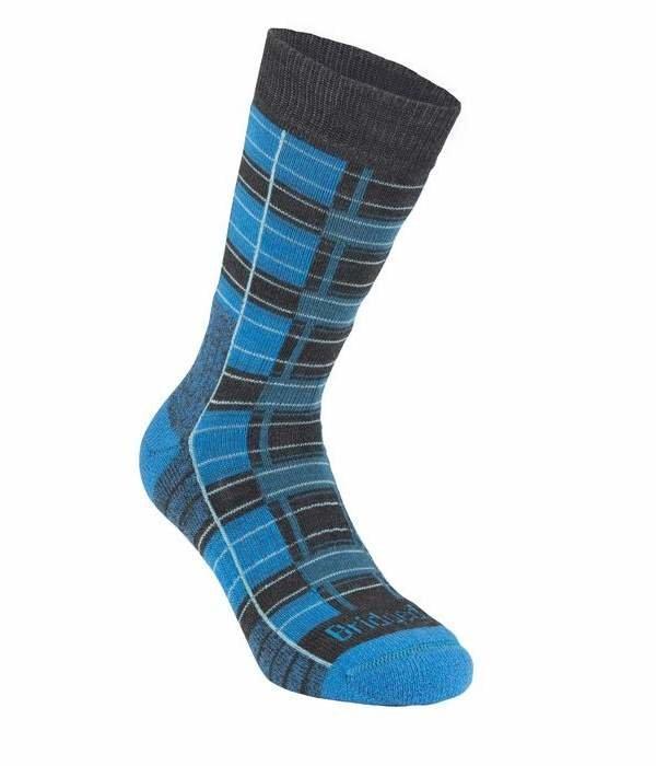 Černo-modré pánské trekové ponožky Bridgedale