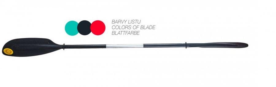 Jednodílné pádlo pro kajak Panda - délka 230 cm