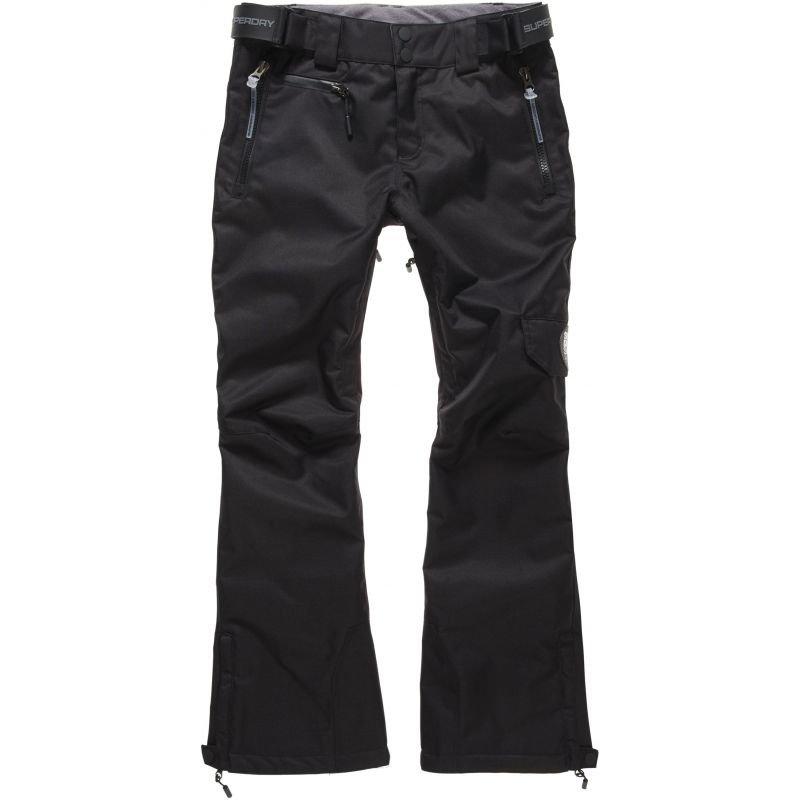 Černé dámské snowboardové kalhoty SuperDry - velikost S