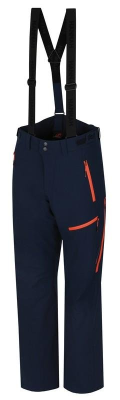 Modré pánské lyžařské kalhoty Hannah - velikost M