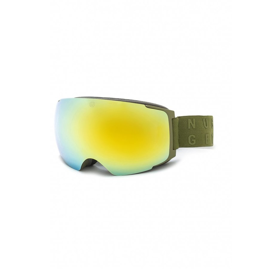 Brýle na snowboard - Nugget Discharge 3 Goggles C - Army Velikost: JEDNOTNÁ VELIKOST