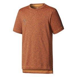 Hnědé dětské chlapecké nebo dívčí tričko Adidas