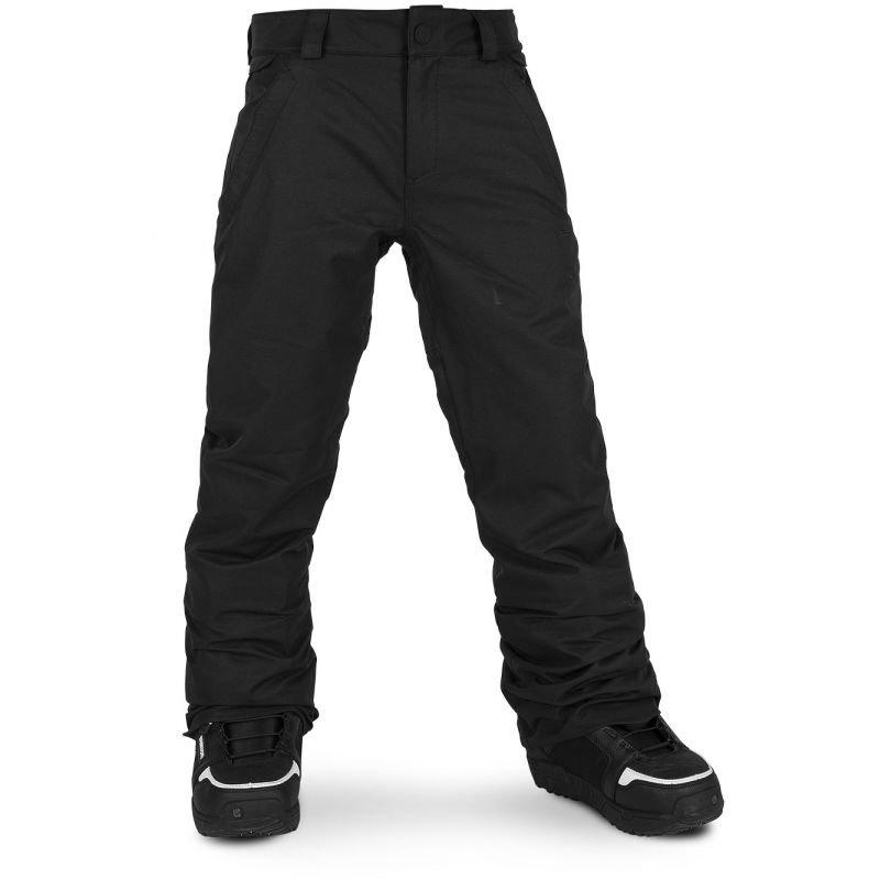 Černé dětské snowboardové kalhoty Volcom