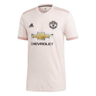 """Růžový dětský fotbalový dres """"Manchester United FC"""", Adidas - velikost 133"""