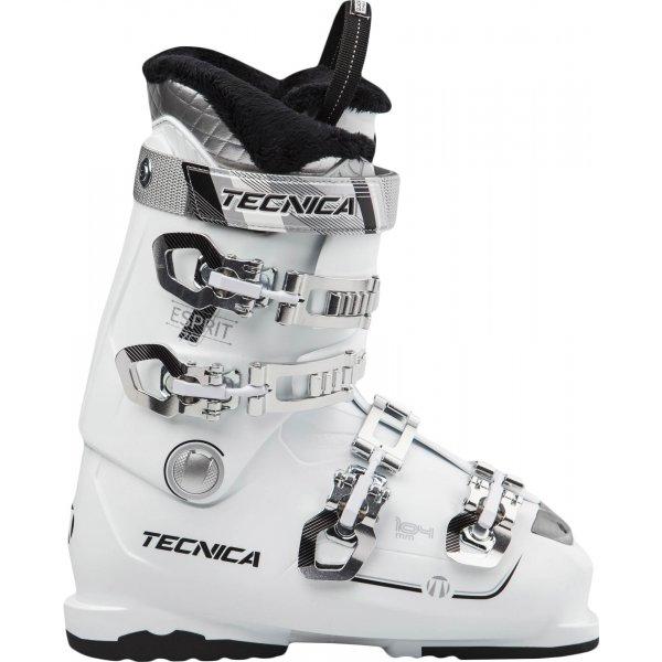 Bílé dámské lyžařské boty Tecnica