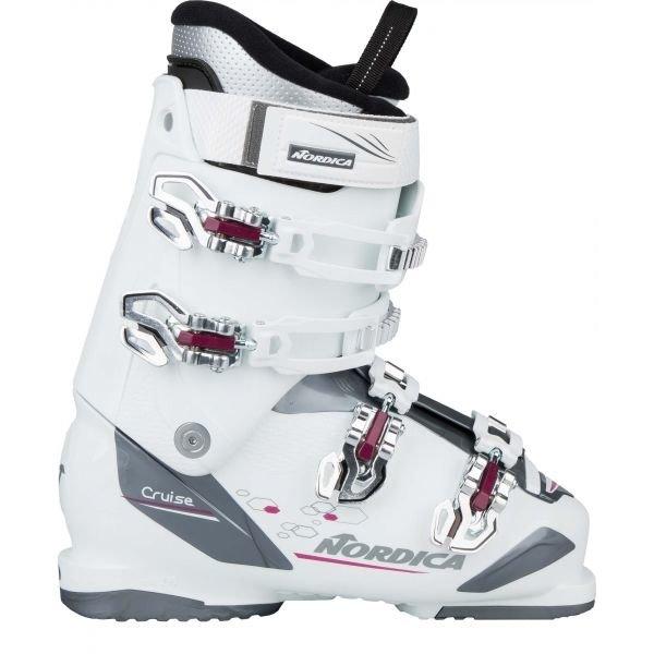 Bílé dámské lyžařské boty Nordica