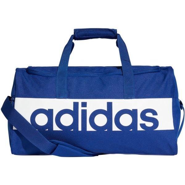 Sportovní taška - adidas LINEAR PERFORMANCE TEAM S bílá S - Sportovní taška