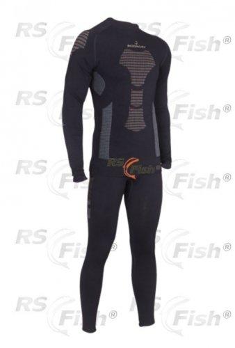 Černé pánské rybářské kalhoty Active Pro Bionic, Bodydry - velikost XL