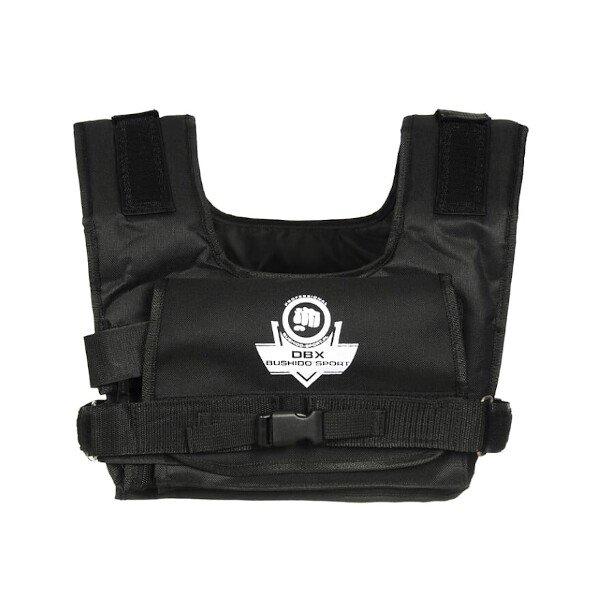 Černá zátěžová vesta DBX, Bushido - 10 kg