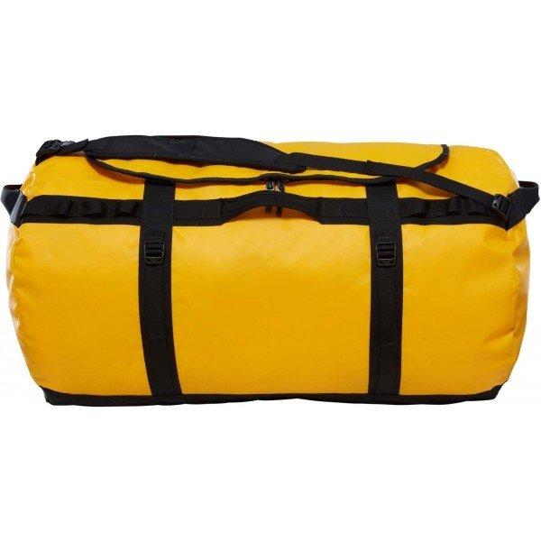 Žlutá sportovní taška The North Face - objem 150 l