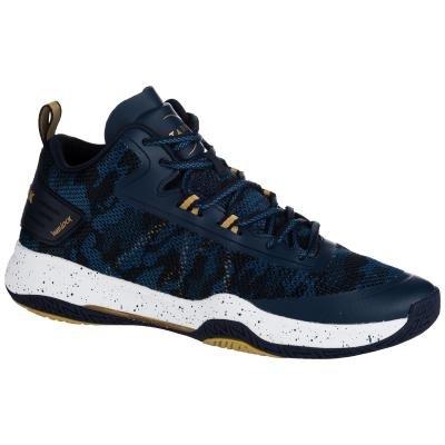 Modré pánské basketbalové boty SC500 MID, Tarmak - velikost 44 EU