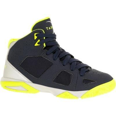 Modré dětské basketbalové boty Strong 300, Tarmak - velikost 30 EU