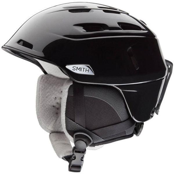 Černá dámská lyžařská helma Smith - velikost 51-55 cm