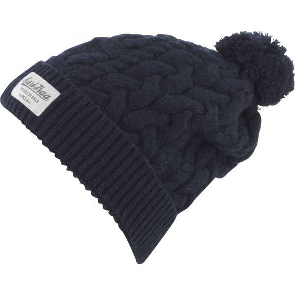 Modrá dámská zimní čepice Kari Traa