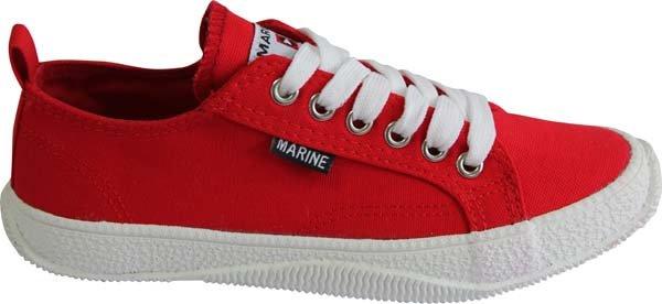 Červené dámské tenisky MARINE - velikost 36 EU
