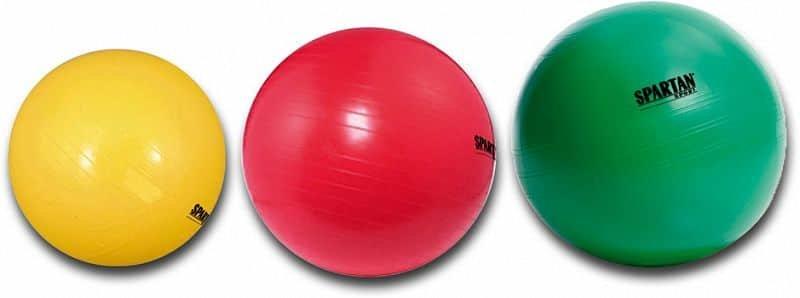 Modrý gymnastický míč Spartan - průměr 55  cm