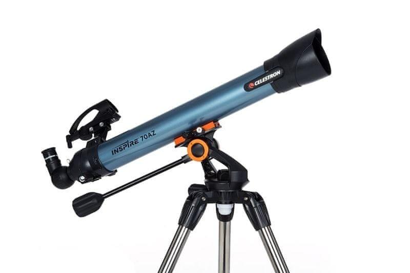 Teleskop Inspire 70AZ, Celestron