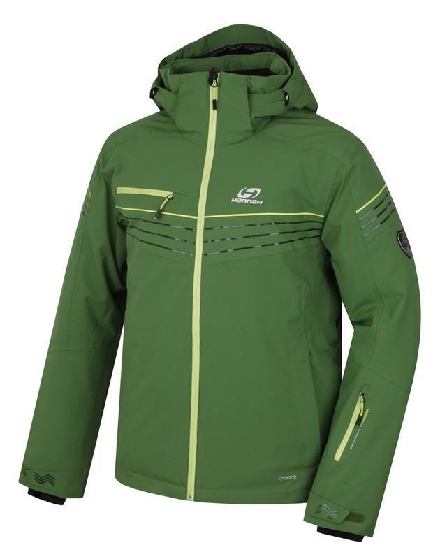 Zelená pánská lyžařská bunda Hannah
