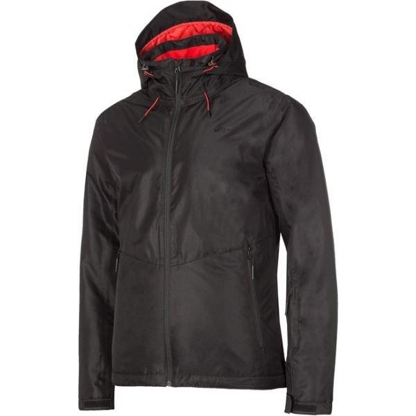 Černá pánská lyžařská bunda 4F - velikost L