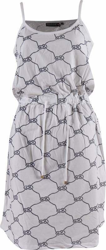 Bílé dámské šaty MARINE