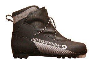 Černé boty na běžky Sporten