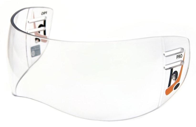 Plexi na hokejovou helmu - Plexi Hejduk MH 600 PRO LINE Barva: čirá