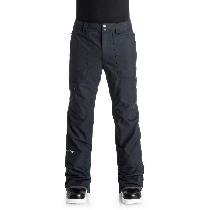 Černé pánské snowboardové kalhoty Quiksilver - velikost XL