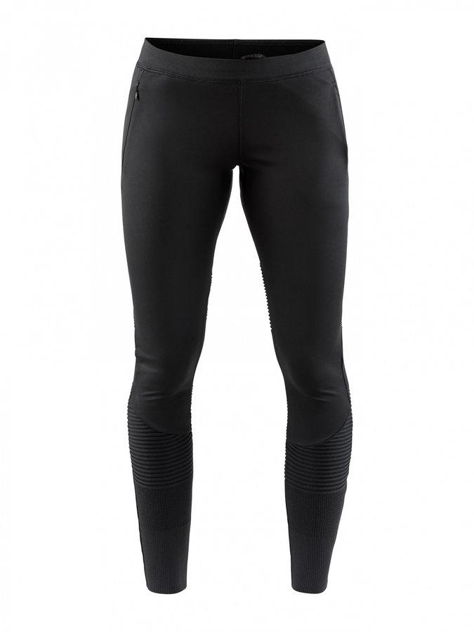 Černé dámské běžecké kalhoty Spirit Fuseknit, Craft - velikost L