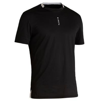 Černý fotbalový dres F100, Kipsta