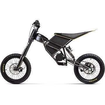 Černá elektrická motorka Freerider, Kuberg