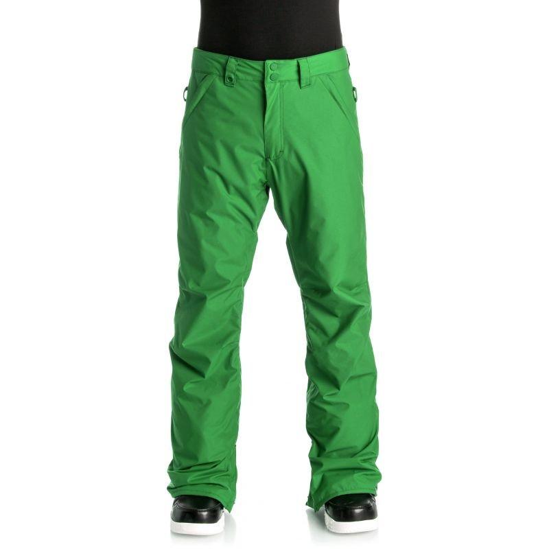 Zelené pánské snowboardové kalhoty Quiksilver - velikost L