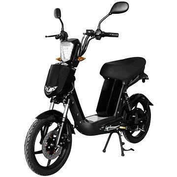Černá elektrická motorka E-Babeta, Racceway