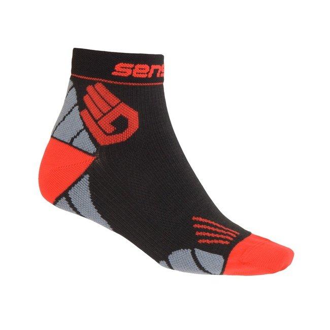 Černé vysoké pánské běžecké ponožky Marathon, Sensor - velikost 39-42 EU