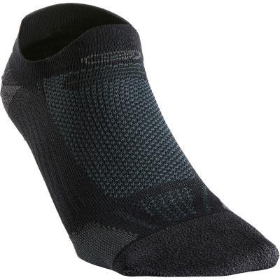 Černé běžecké ponožky Kiprun, Kalenji