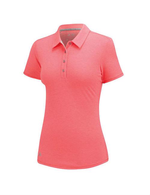 Růžové dámské tričko s krátkým rukávem Adidas - velikost S