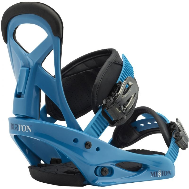 Modré dětské vázání na snowboard Burton - velikost S