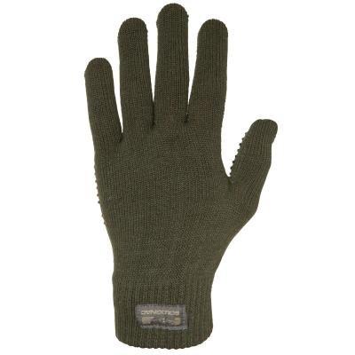Zelené lovecké rukavice Solognac